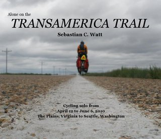 Alone on the TRANSAMERICA TRAIL