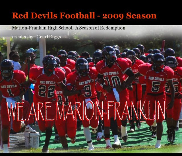 Red Devils Football - 2009 Season