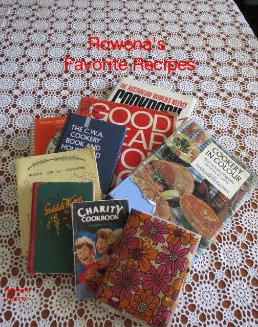 Rowena's Favorite Recipes