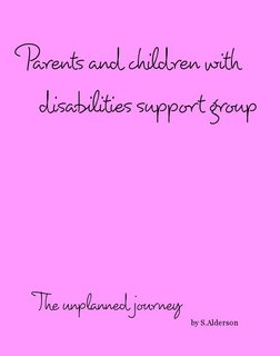 Parents and children with disabilities support group