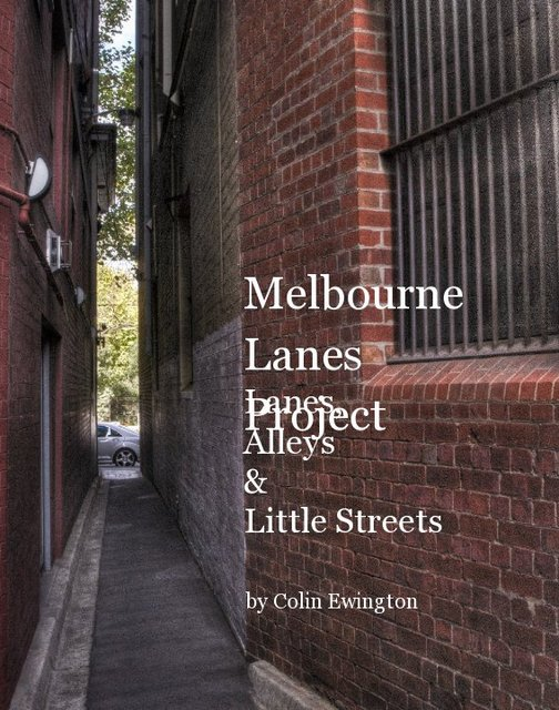 Melbourne Lanes Project
