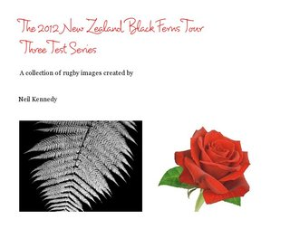 The 2012 New Zealand Black Ferns Tour Three Test Series