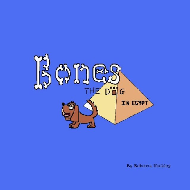 Bones The Dog In Egypt