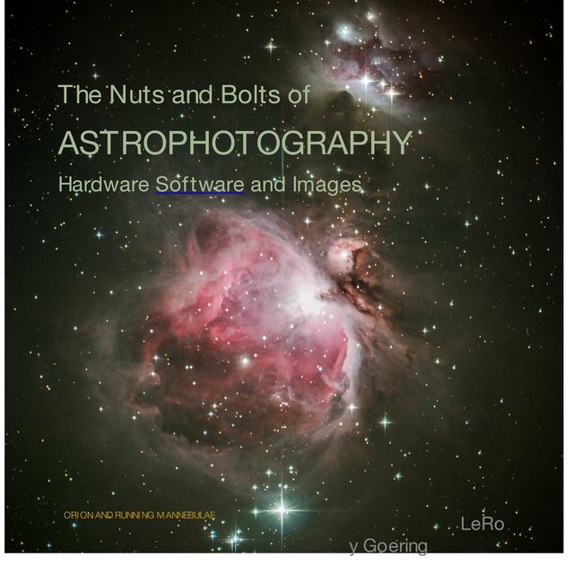 The Nuts and Bolts of Astrophotography