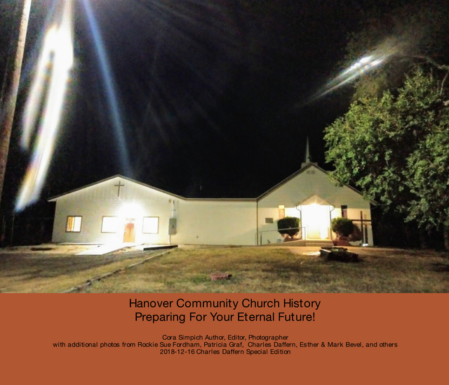 Hanover Community Church History  Preparing For Your Eternal Future!