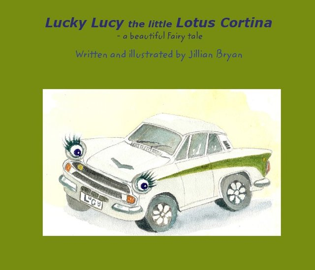 Lucky Lucy the little Lotus Cortina - a beautiful Fairy tale