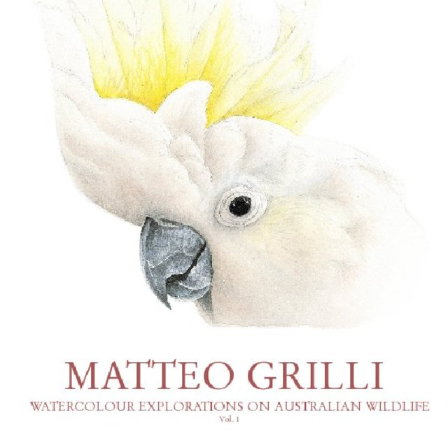 WATERCOLOUR EXPLORATIONS ON AUSTRALIAN WILDLIFE Vol. 1