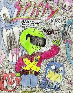 Spiffy & Bob: Martian Bounty Hunters For Hire