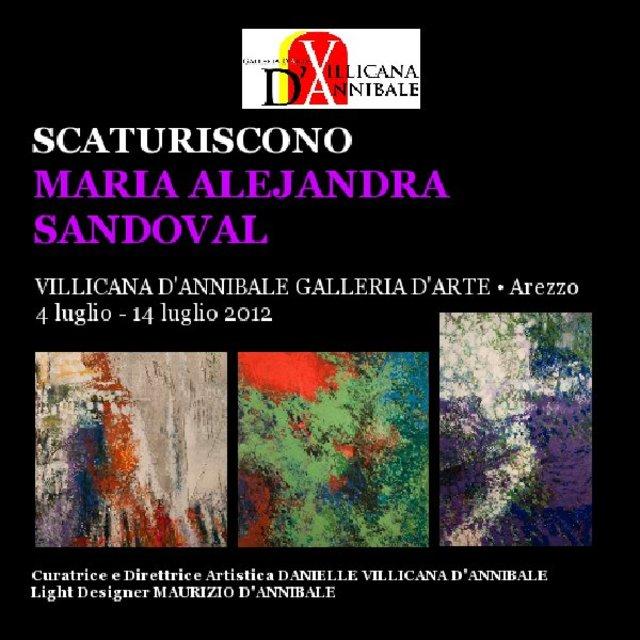 """MARIA ALEJANDRA SANDOVAL """"SCATURISCONO"""""""