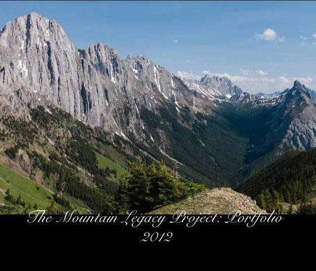 The Mountain Legacy Project: Portfolio 2012
