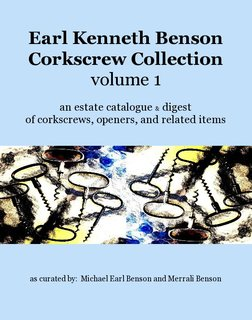 Earl Kenneth Benson Corkscrew Collection volume 1