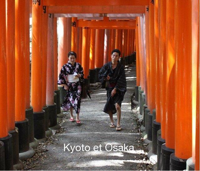 Kyoto et Osaka