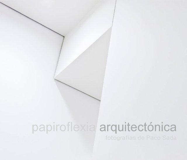 papiroflexia arquitectónica fotografías de Paco Sada