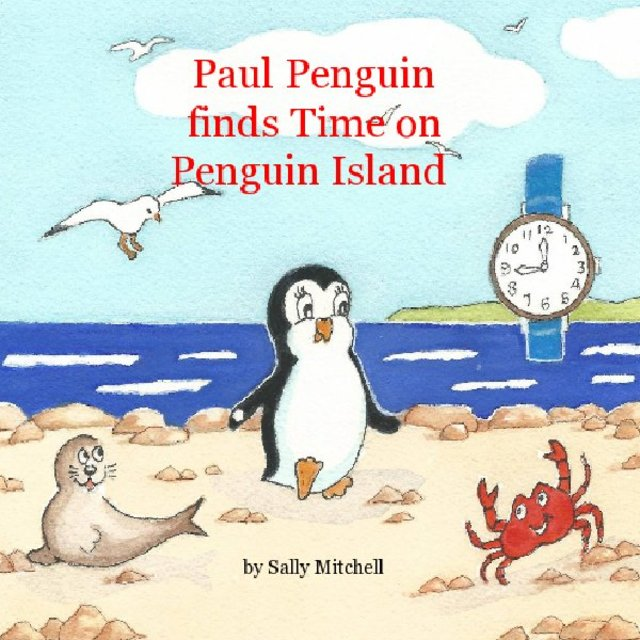 Paul Penguin finds Time on Penguin Island