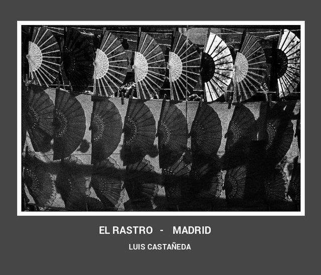 """EL RASTRO  -  MADRID"""