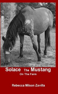 Solace The Mustang On The Farm