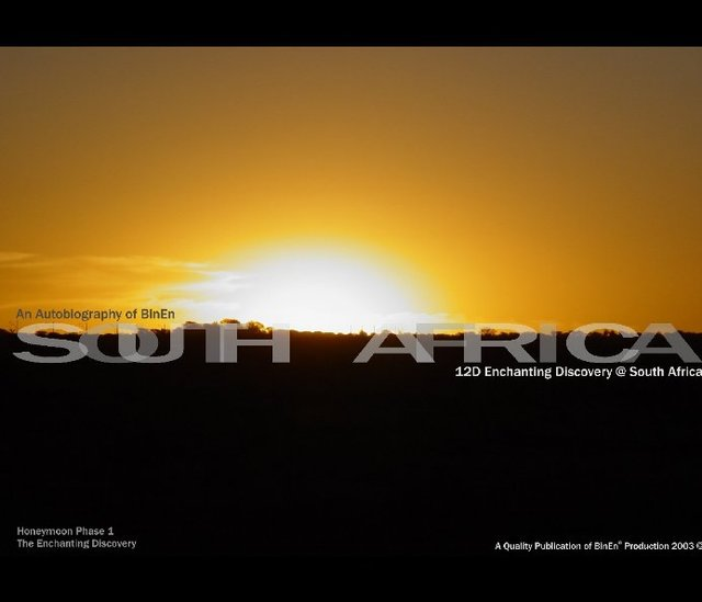 Enchanting Discovery @ South Africa