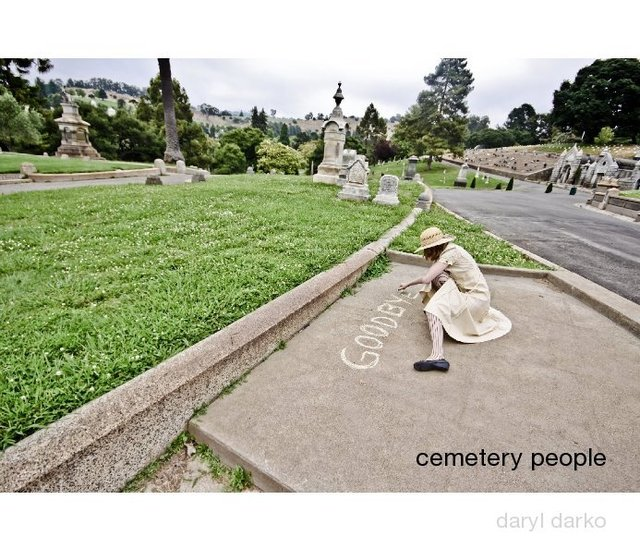 cemetery people