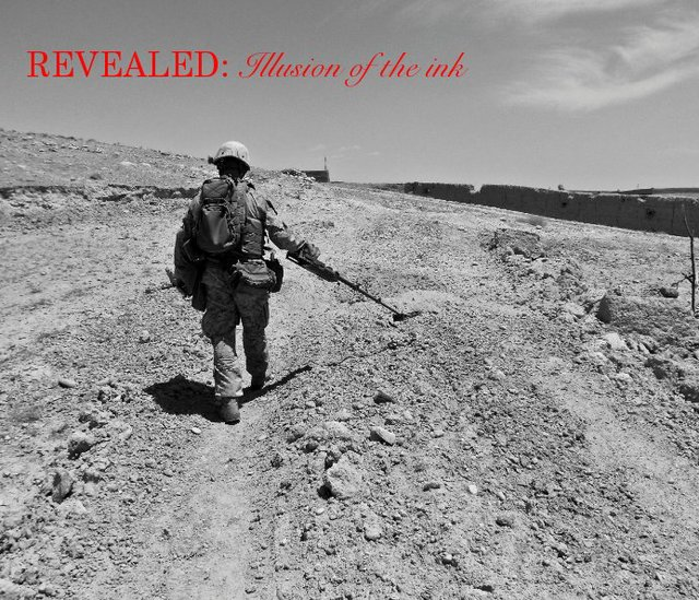 REVEALED: Illusion of the ink© All versions of this books proceeds go towards the EOD Warrior Foundation