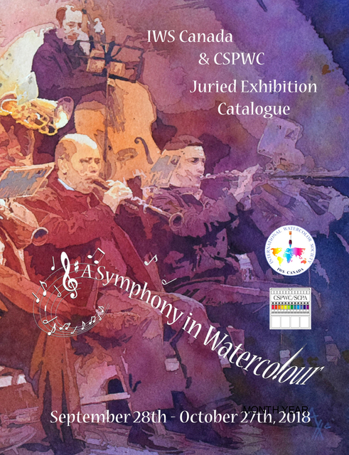 A Symphony in Watercolour Exhibition Catalogue