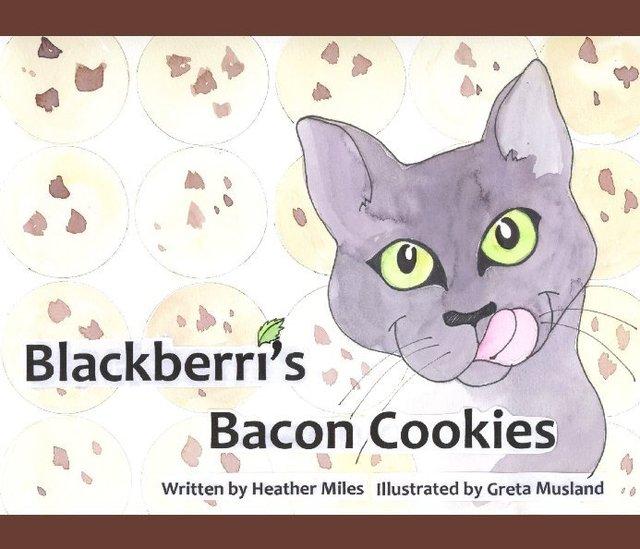 Blackberri's Bacon Cookies