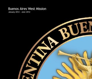Buenos Aires West Mission January 2012 - June 2012