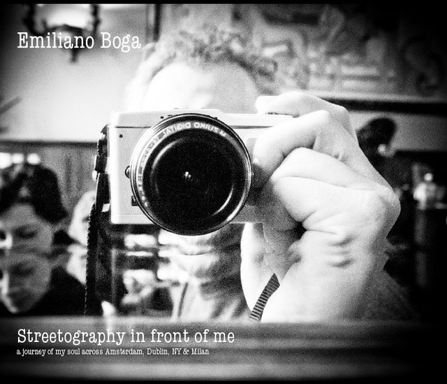 Emiliano Boga Streetography in front of me a journey of my soul across Amsterdam, Dublin, NY & Milan