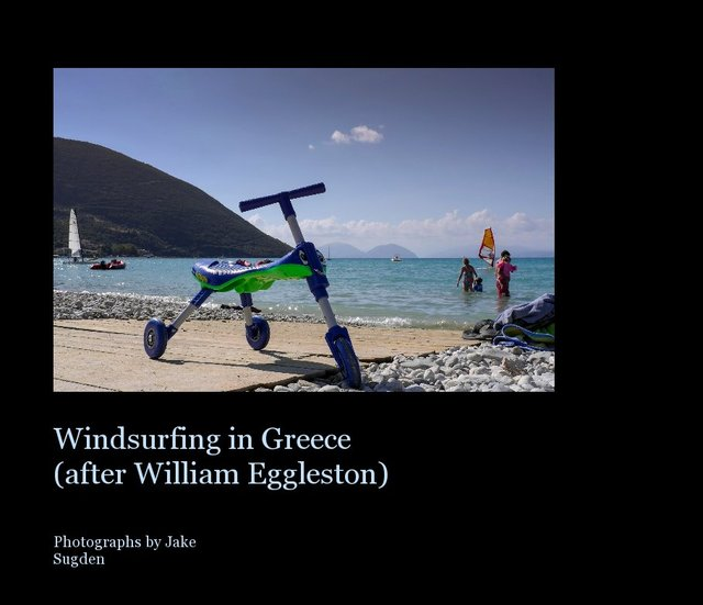 Windsurfing in Greece (after William Eggleston)