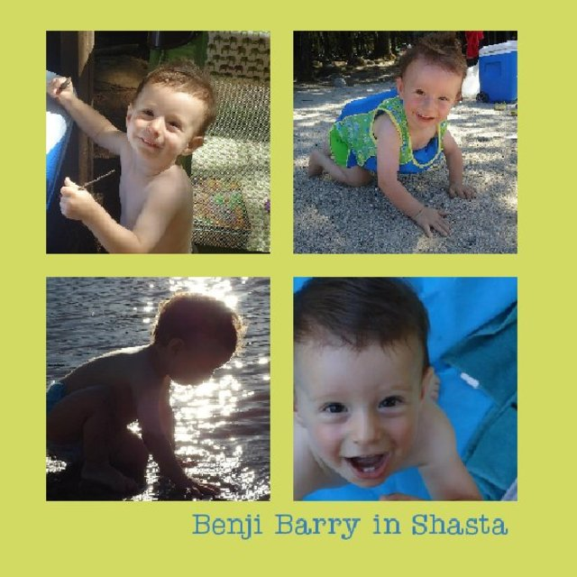 Benji Barry in Shasta