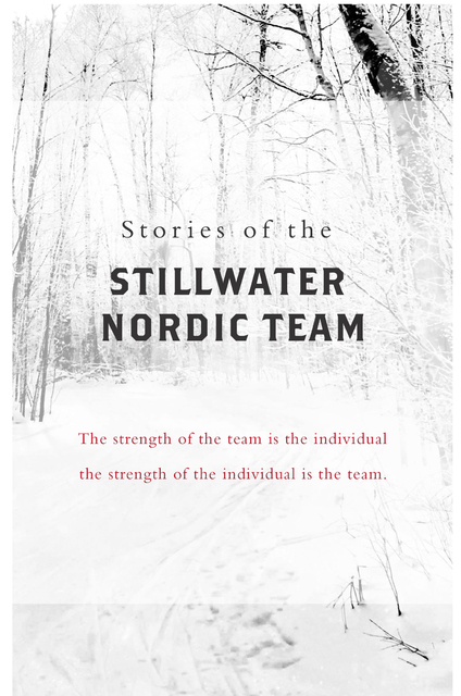 Stories of the Stillwater Nordic Team