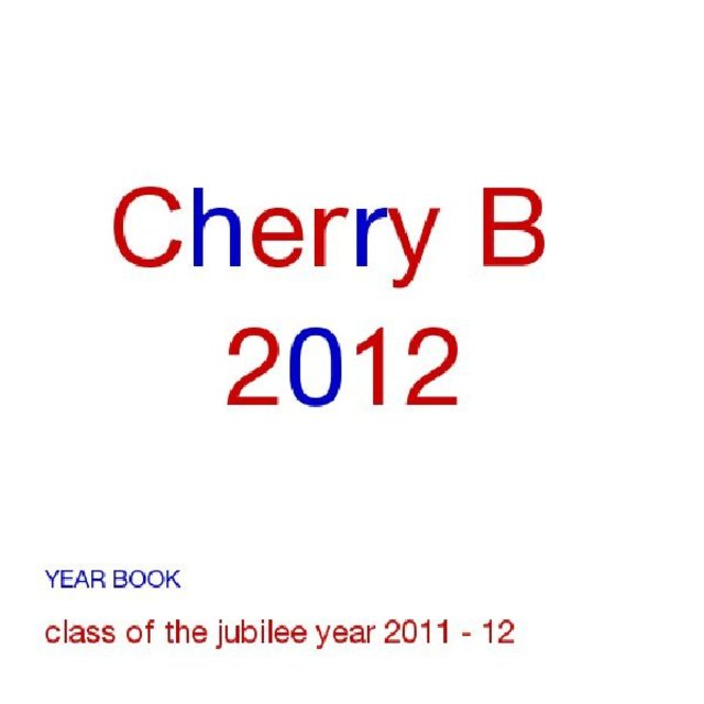 Cherry B Brandlehow 2012