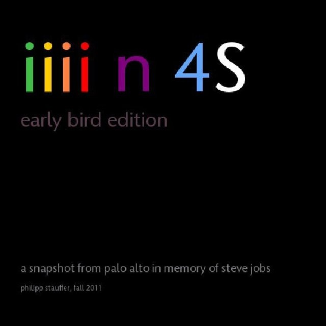 iiii n 4S early bird edition