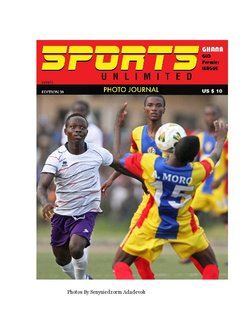 Sports Unlimited Photo Journal Edition 39