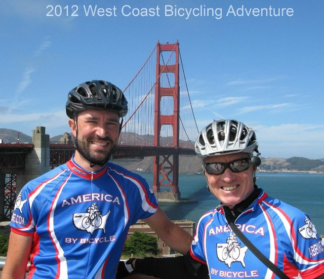 2012 West Coast Bicycling Adventure