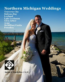 Northern Michigan Weddings Traverse City Suttons Bay Leeland Lake Leelanau Glen Arbor Acme McMillan/Curtis Petoskey