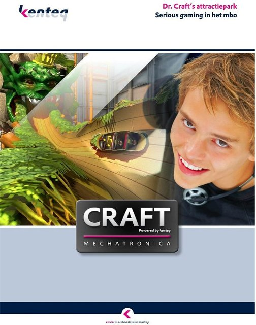 CRAFT; serious gaming in het MBO