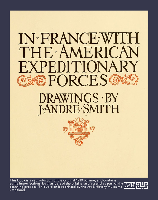In France with the American Expeditionary Forces