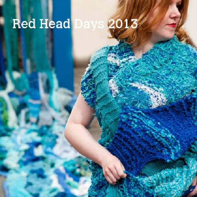 Red Head Days 2013 - Roodharigendag kunst