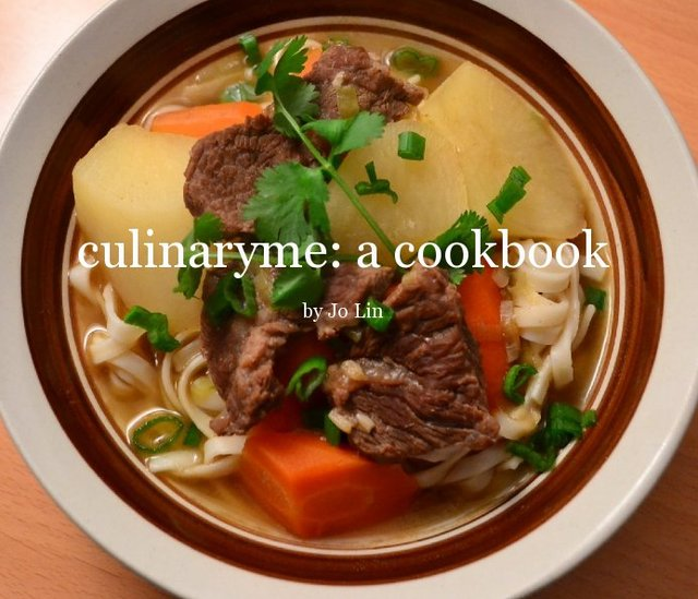 culinaryme: a cookbook