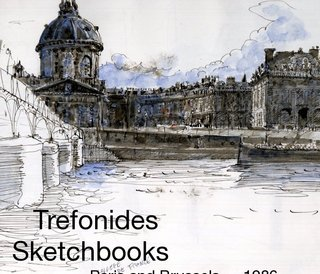 Trefonides Sketchbooks Paris and Brussels  1986