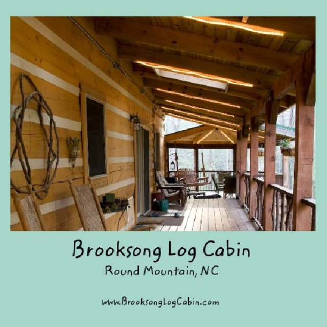 Brooksong Log Cabin Round Mountain Nc Blurb Books