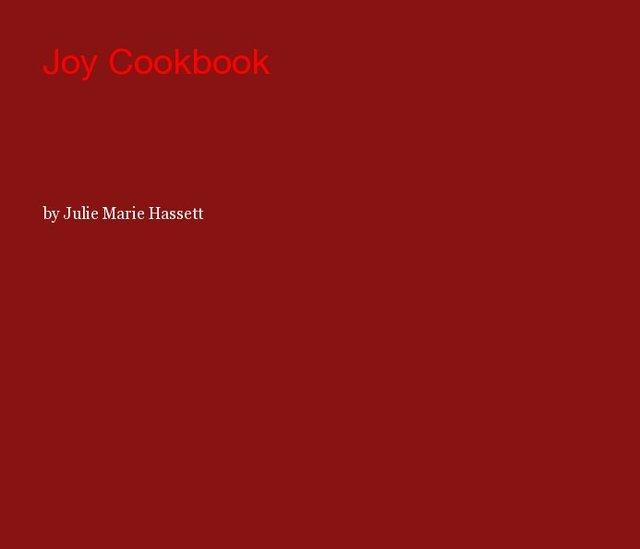 Joy Cookbook