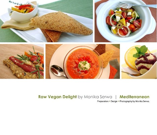 Raw Vegan Delight  |  Mediterranean