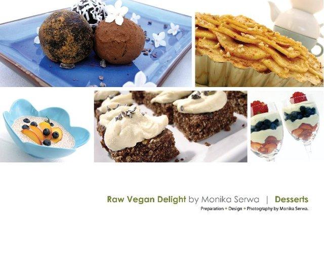Raw Vegan Delight  |  Desserts