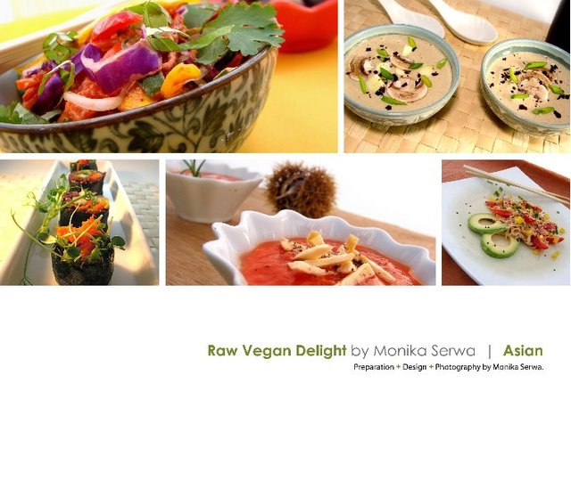 Raw Vegan Delight  |  Asian
