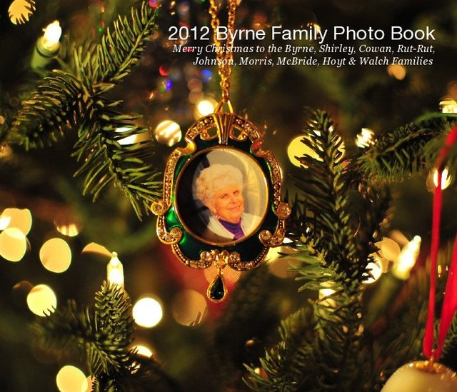 2012 Byrne Family Photo Book