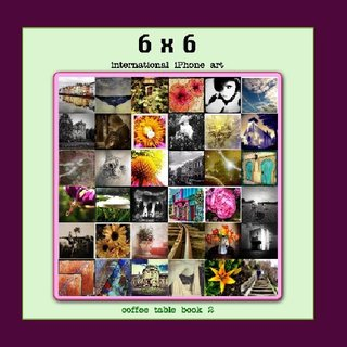 6x6 International iPhone Art Book #2