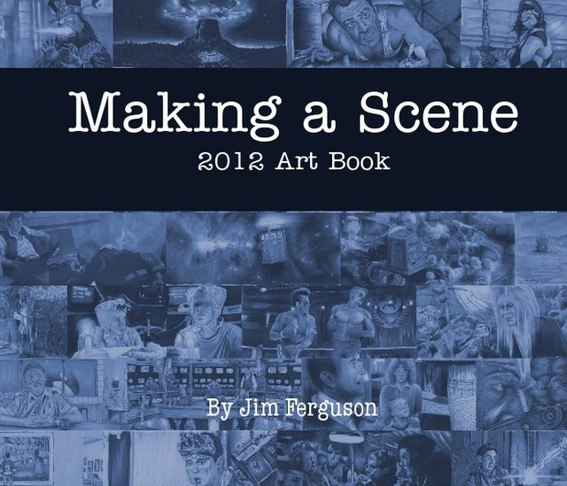 Making a Scene 2012 Art Book