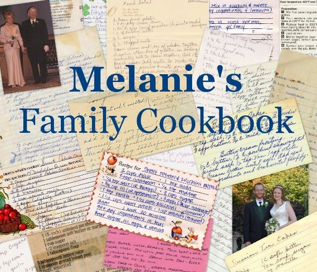Melanie's Family Cookbook