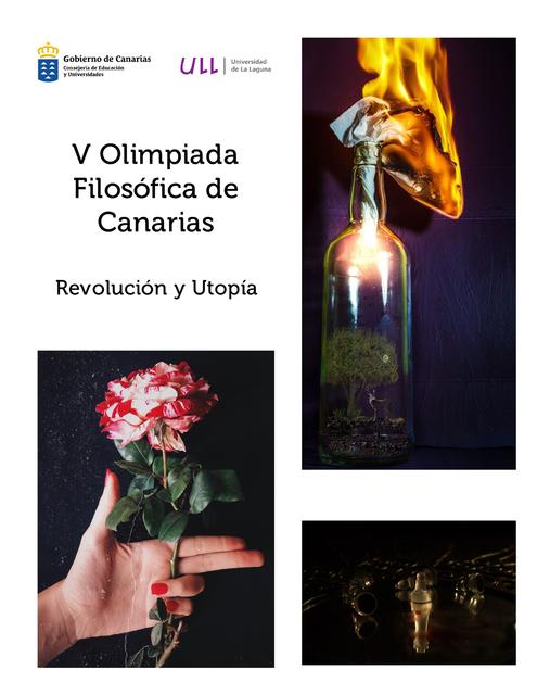 V Olimpiada Filosófica de Canarias